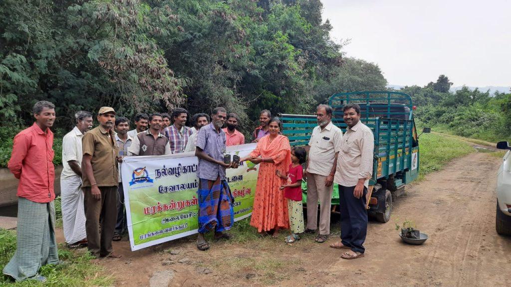500 Lemon & 500 Amla Saplings distributed to Tribal Settlement from Nalvazhikatti Trust